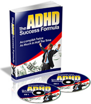 Product picture The ADHD Success Formula eBook & Audio (PLR)