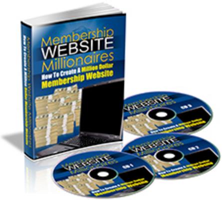 Product picture Membership Website Millionaires eBook & Audio