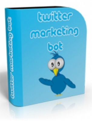 Product picture Twitter Marketing Bot with (PLR)