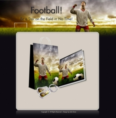 Product picture Football Template and eBook Package (PLR/RR)