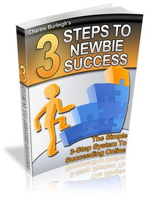 Product picture 3 Steps To Newbie Success Revealed (PLR)